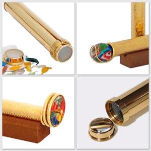 Brass kaleidoscopes