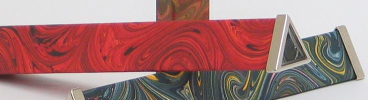 Kaleidoskope mit Papierbezug