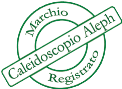 Caleidoscopio Aleph registered mark